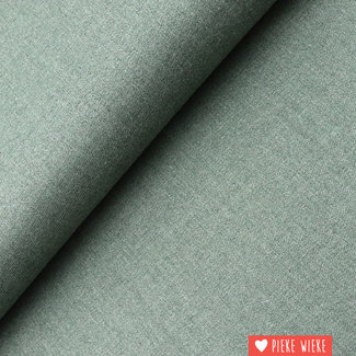 Bamboo twill old green blend