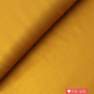 Viscose mixture shine Warm yellow