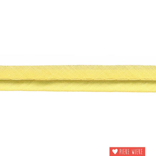 Paspel dik 4mm Zacht geel