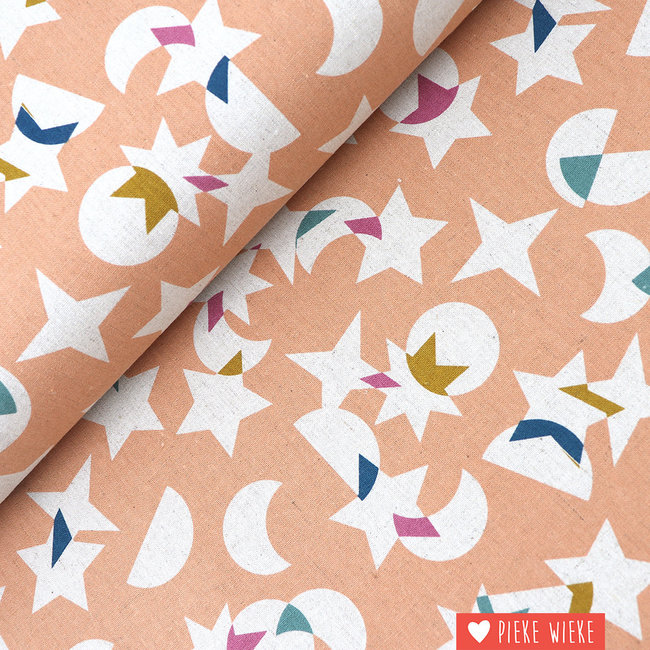 Ruby Star Society Canvas katoen linnen Stellar Roze