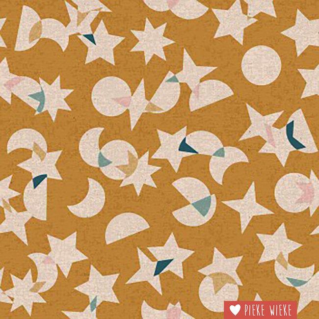 Ruby Star Society Canvas cotton linen Stellar Ochre