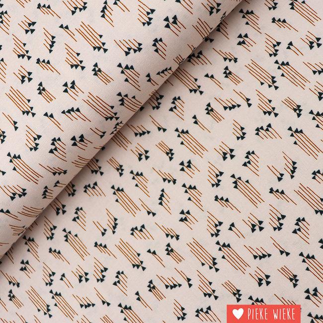 Cotton + Steel Katoen Hermoine Pink