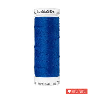 Amann Seraflex elastisch garen 130m / 0024 Kobalt blauw