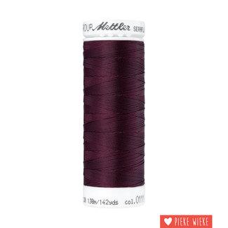 Amann Mettler Seraflex elastisch garen 130m / 0111 Bordeaux