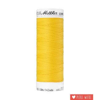 Amann Mettler Seraflex elastic yarn 130m / 0120 Canary yellow