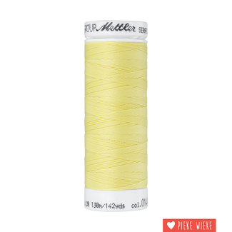 Amann Mettler Seraflex elastisch garen 130m / 0141 Licht geel