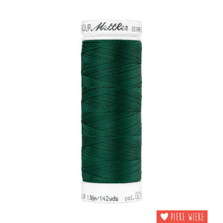Amann Mettler Seraflex elastisch garen 130m / 0216 Donker groen