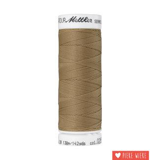 Amann Mettler Seraflex elastisch garen 130m / 0285 Beige bruin