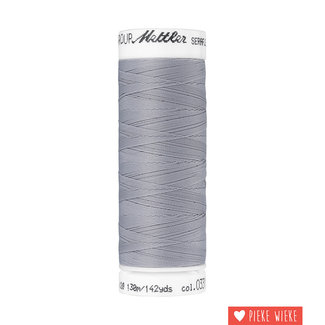 Amann Mettler Seraflex elastisch garen 130m / 0331 Grijs