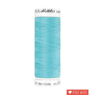 Amann Mettler Seraflex elastic yarn 130m / 0408 Aqua blue