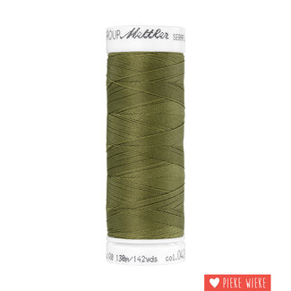 Amann Mettler Seraflex elastic yarn 130m / 0420 Olive green