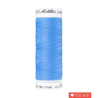 Amann Mettler Seraflex elastisch garen 130m / 0818 Smurfen blauw