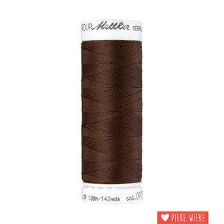 Amann Seraflex elastic yarn 130m / 0975 Brown