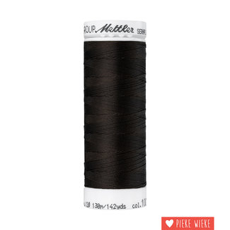 Amann Mettler Seraflex elastisch garen 130m / 1002 Donker bruin