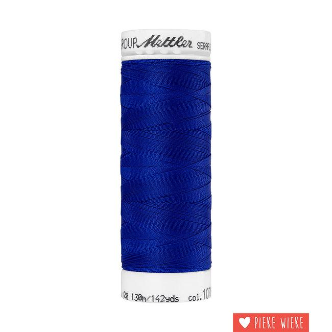 Amann Mettler Seraflex elastisch garen 130m / 1078 Konings blauw