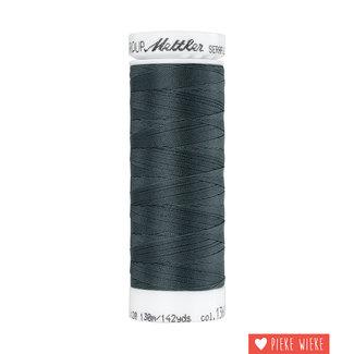 Amann Seraflex elastic yarn 130m / 1360 Night grey