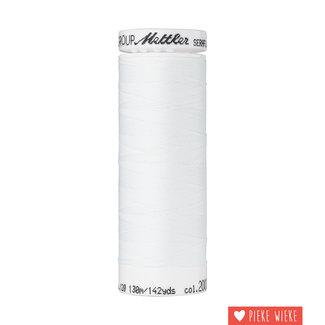 Amann Mettler Seraflex elastic yarn 130m / 2000 White