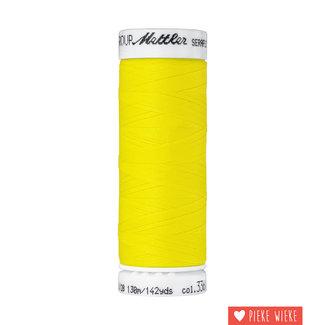 Amann Mettler Seraflex elastisch garen 130m / 3361 Citroen geel