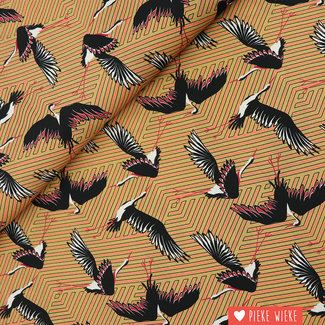 Viscose Geometric cranes