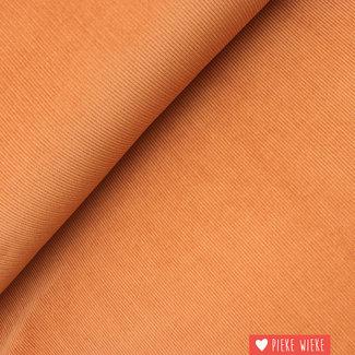 Rib velvet fine Soft rust