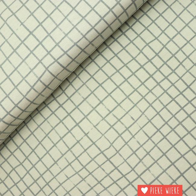 Katia Jersey checkered old mint