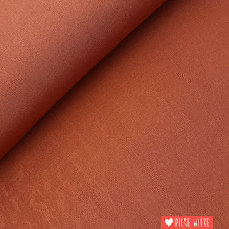 Fibre Mood Polyester Stretch Rust