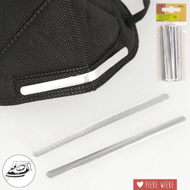Aluminium neusbrug Instrijkbaar / per pakje