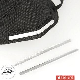 Aluminium neusbrug Instrijkbaar / per stuk