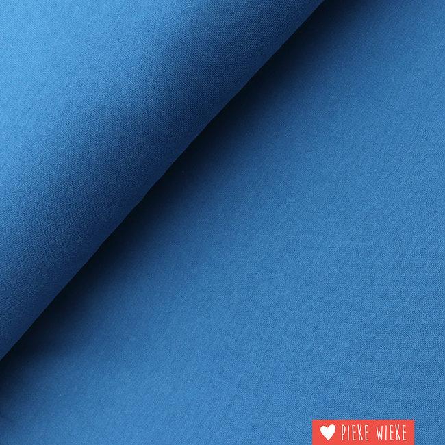 Sweater uni extra zacht Blauw