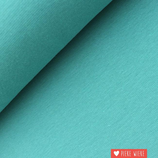 Boordstof GOTS Turquoise