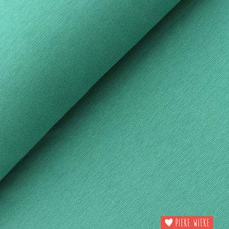 Ribbing GOTS Emerald green