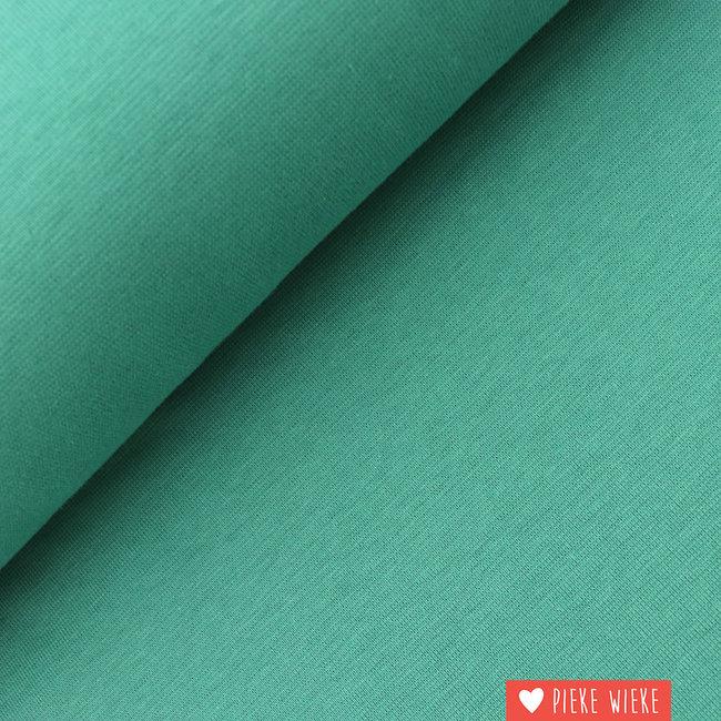 Boordstof GOTS Smaragd groen