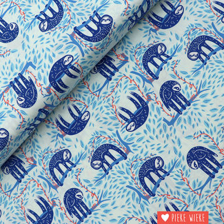 Art Gallery Cotton Selva Blue