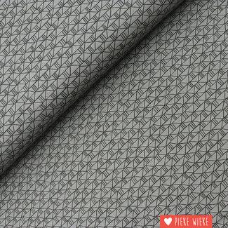 Cotton + Steel Cotton Bricks grey