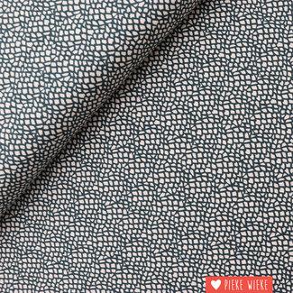 Cotton + Steel Katoen Moss Grijs