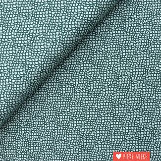 Cotton + Steel Cotton Moss Steel Blue