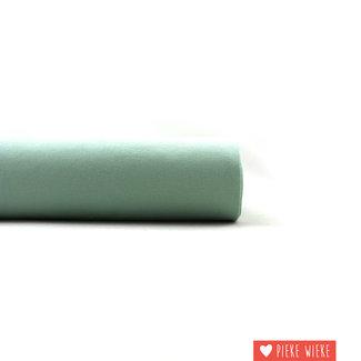 Eva Mouton Boordstof geribbeld Licht groen