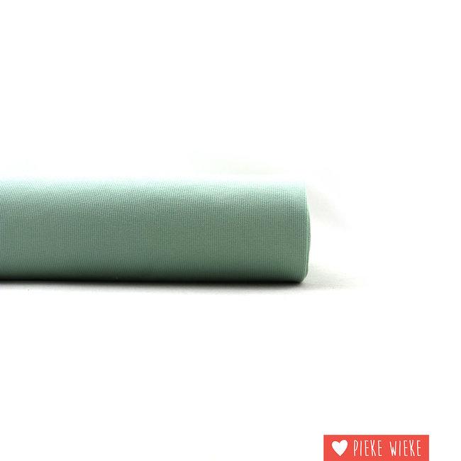 Eva Mouton Ribbing fabric ribbed Light green