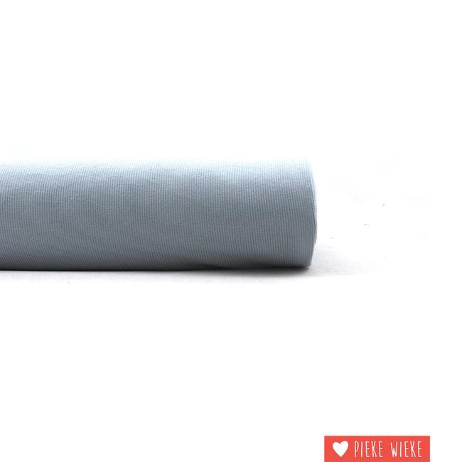 Eva Mouton Ribbing fabric ribbed Grey Blue