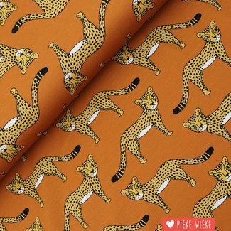 Eva Mouton French Terry Cheetah