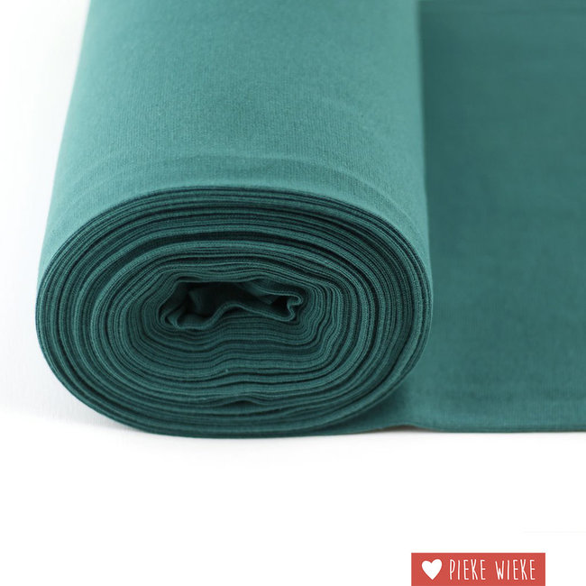 About Blue Fabrics Boordstof About Blue - Spruce