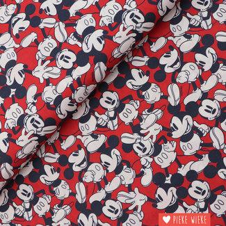 Disney Cotton Mickey Red
