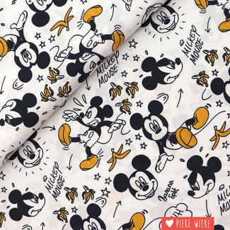 Disney Katoen Mickey Bananen