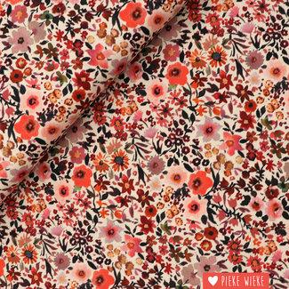 Poppy Katoen Fleurs