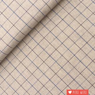 Katia Polyester Cotton Viyella Tartan Little Sand