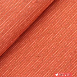 Poppy Tricot Fine Striped Terra