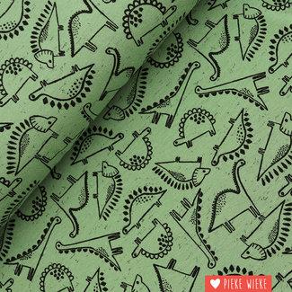 Poppy Jersey Dino Old Green