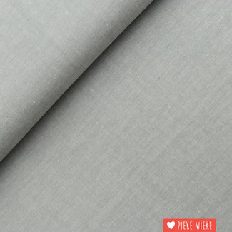 Cotton chambray Grey