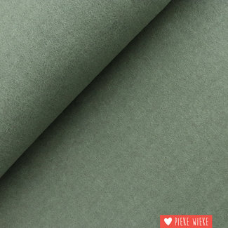 Soft mantle fabric blend Old green