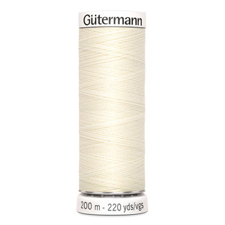 Gütermann All purpose yarn 200 m No. 1